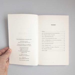 Tabla de contenido del libro Citas de filosofía, ciencia y pensamiento crítico